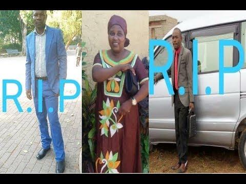 MOZAMBIQUE: Abanyarwanda bane barimo umuhanuzi n'abanyamasengesho babiri baguye mu mpanuka ikomeye