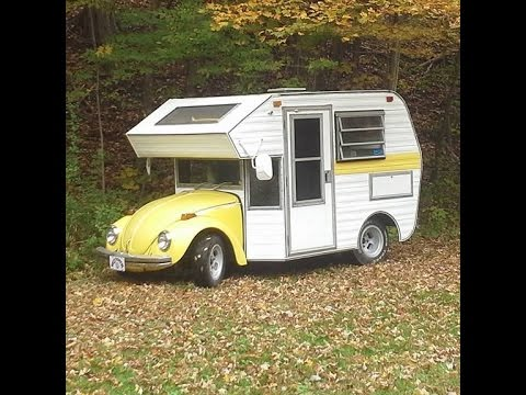 neat vw lil bugger bug camper motorhome mini rv youtube