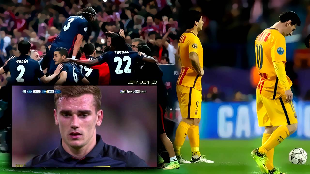 Atlético De Madrid Vs Fc Barcelona 2 0 13 04 2016 El