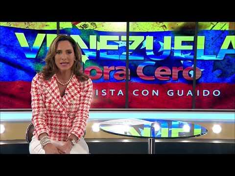 Entrevista completa de la periodista Maria Elvira Salazar al presidente interino Juan Guaidó