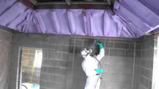 Warwickshire Lantern Roof Insulation    Basf Spray Foam Insulation   Part 2
