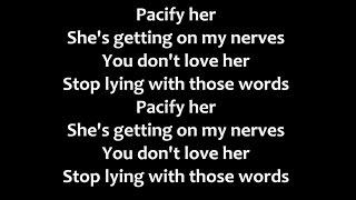 Melanie Martinez - Pacify Her Lyrics
