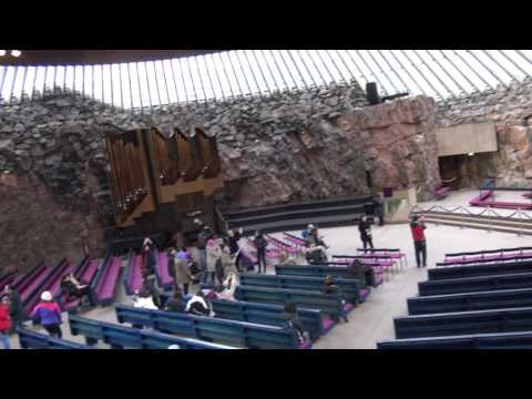 Temppeliaukio Church (Rock Church) Helsinki