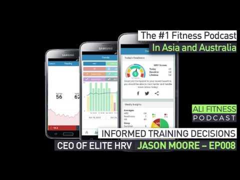 Ali Fitness Podcast Episode 008: CEO OF ELITE HRV JASON MOORE