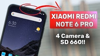 Xiaomi Redmi Note 6 Pro | 4 Cameras, SD 660 | Launch, Specs and Price