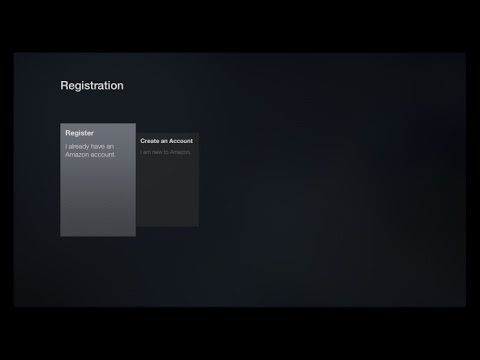 Amazon Device Stuck on Registration Screen?