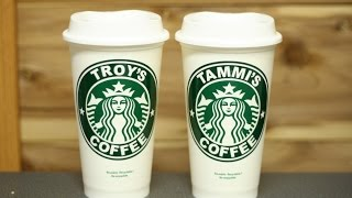 Personalized $2 Starbucks Cups