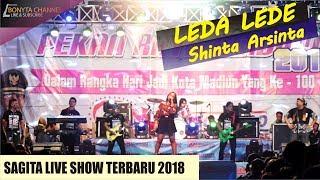 LEda Lede Shinta arsinta SAGITA live Madiun 2018