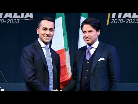 Italy's populist government proposes law professor for PM post