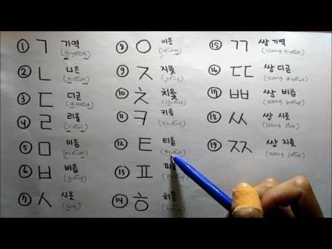Dasar Bahasa Korea bersama Dewi Ssaem - Pekan 3