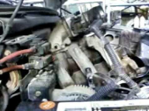 2006 Ford F 150 Fuel System Diagram Pulling A 1997 F150 4 6l V8 Intake Manifold Off Youtube