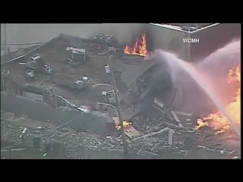 Building destroyed after gas leak explosion in west Columbus | firefighting Mp3