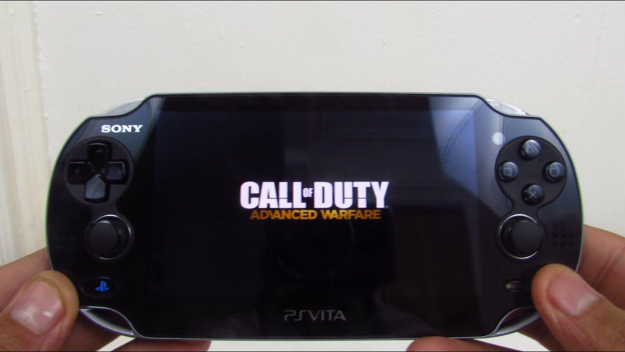 Call Of Duty: Advanced Warfare - PS Vita Remote Play Gameplay - YouTube