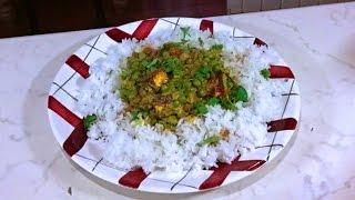 Mutter Paneer And Basmati Rice