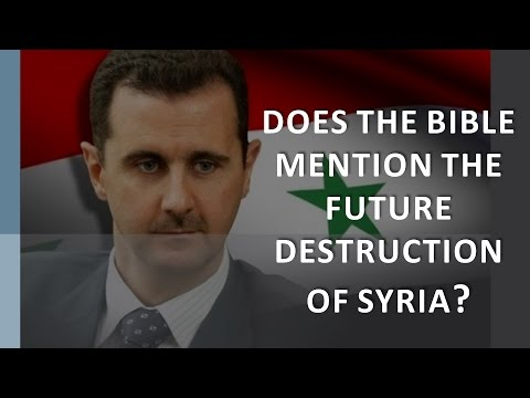 What Will Come Of Syria In Bible Prophecy?