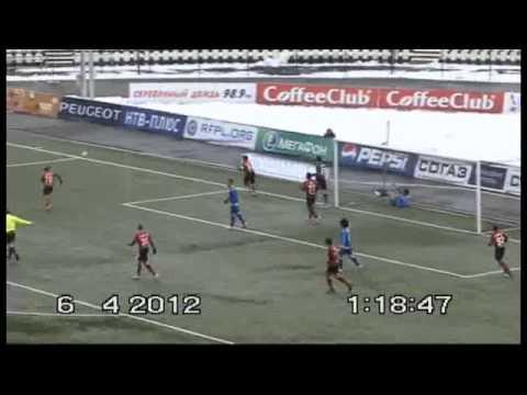 Супергол Дмитрия Кириченко ударом через себя