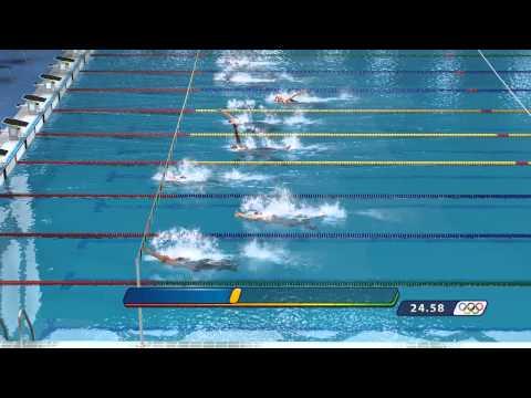 Beijing 2008: The Official Video Game - Men's Swimming 100m Backstroke