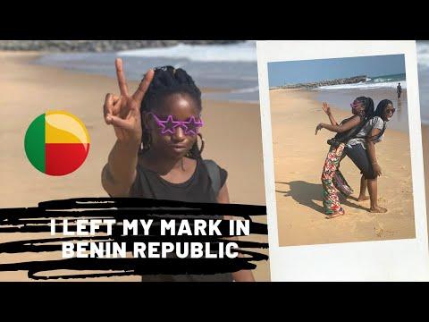 LEAVING MY MARK IN COTONOU, BENIN REPUBLIC 🇧🇯😎