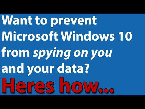 Want Windows 10 to stop spying on you & stealing your data? Privacy Guide.
