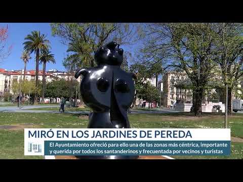 Nuevas esculturas de Miró en los Jardines de Pereda