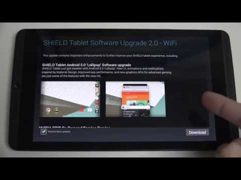 Nvidia SHIELD Tablet Lollipop Update and Preview