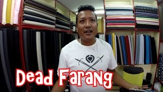 Tailors in Thailand. Buying a Tailor made custom suit in Thailand. Hard Bargaining.