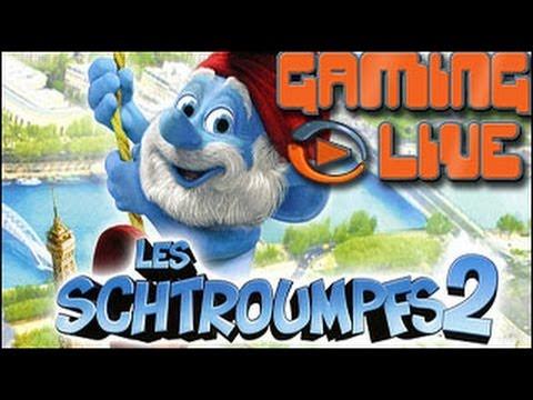 Gaming live Wii U - Les Schtroumpfs 2 - Un Schtroumpf de plates-formes vraiment pas Schtroumpfant poster