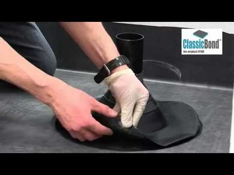 Rubber Roof Pipe Seal - EPDM Installation Guides and ...