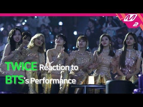[Reaction Cam] TWICE(트와이스) Reaction to BTS(방탄소년단) l 2019MAMA x M2