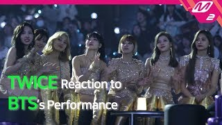 [Reaction Cam] TWICE(트와이스) Reaction to BTS(방탄소년단) l 2019MAMA x M2