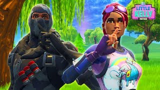 LITTLE KELLY AND HAVOC'S BIG SECRET - Fortnite Short Film