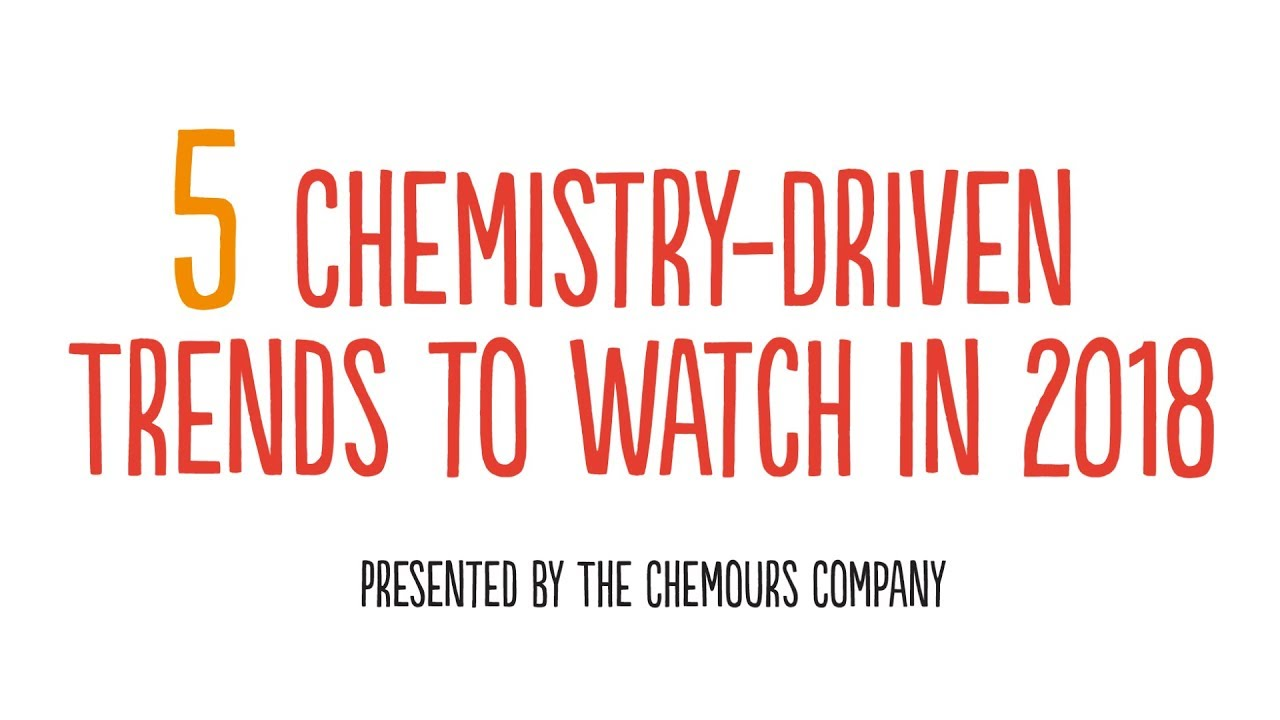 2018 Chemistry Trends - Future of Chemistry | The Chemours Company