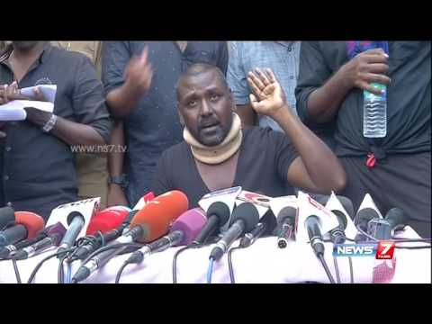 Lawrence speech at press meet after violence in jallikattu protest | News7 Tamil