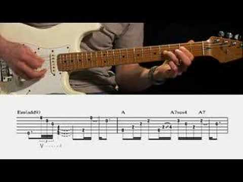 Pink Floyd Breathe Guitar Lesson Guitarinstructor Youtube