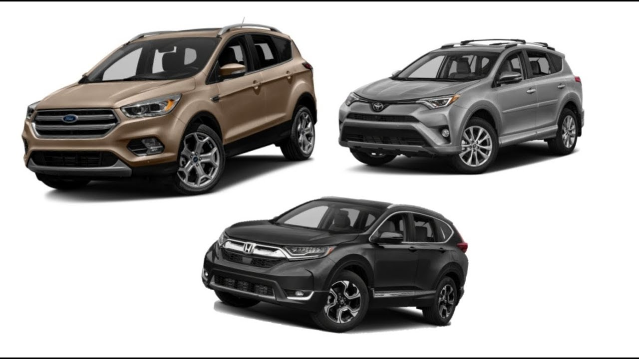 ford escape vs honda cr v vs toyota rav4