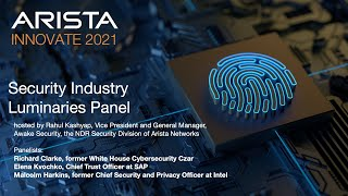 Arista Innovate 2021 – Security Industry Luminar ...