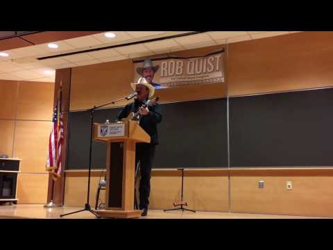 Rob Quist and his Campaign Song