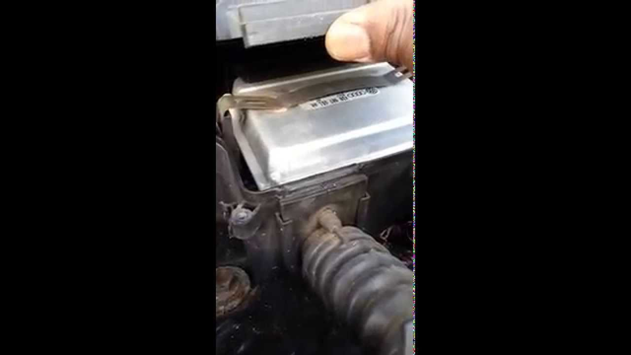 Audi A6 Ecu Location Cabin Air Filter Access Youtube