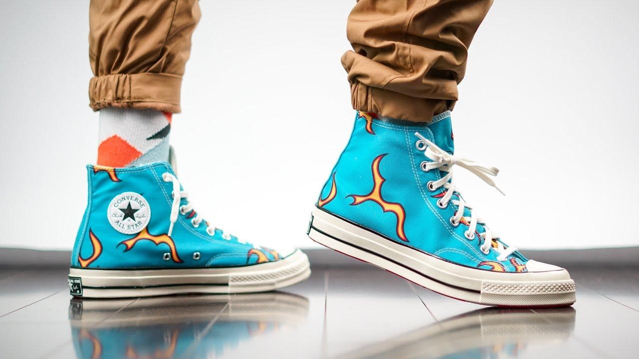 Why Tyler Creates Converse X Golf Le Fleur Chuck 70 Hi Flames On Feet Review Youtube