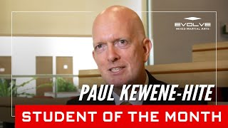 Evolve MMA | Student of the Month: 50 year old Paul Kewene-Hite