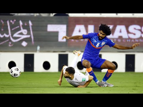 India vs Afghanistan (1-1) | Match Highlights | FIFA WC 2022 & AFC Asian Cup 2023 Joint Qualifiers