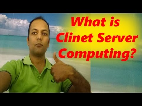 What is client server computing  in Hindi / Urdu