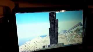 Burj Khalifa & Sears Tower in Minecraft