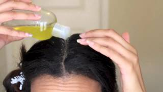 DIY Hot Oil Treatment for Dry Hair