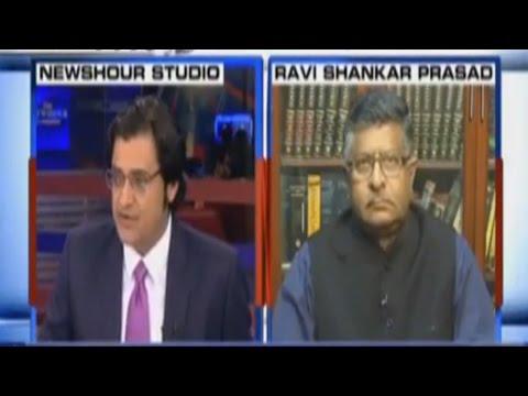 Ravi Shankar Prasad On Arvind Kejriwal's Comment On Surgical Strike - Exclusive