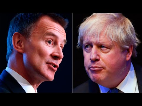 Watch again: Boris Johnson and Jeremy Hunt head-to-head in Tory leadership hustings