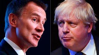Watch again: Boris Johnson and Jeremy Hunt head-to-head in Tory leadership hustings