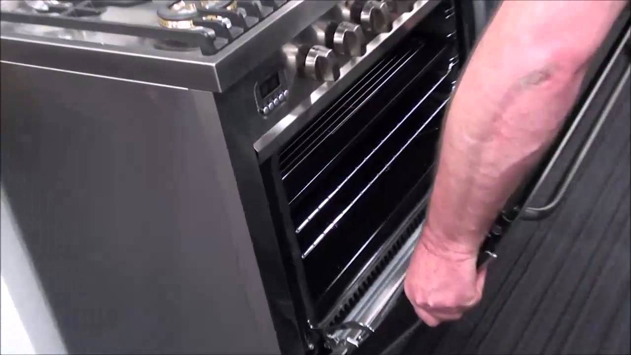 Ilve Oven Door Removal V1 Youtube