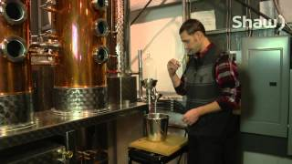 Pemberton Distillery Single Malt Whiskey on Shaw TV