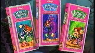 Closing to Ariel's Undersea Adventures: Volume 3 - Double Bubble 1993 VHS